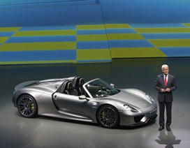 Porsche 918 Spyder quyết cạnh tranh với LaFerrari bằng giá 1.000.000 USD